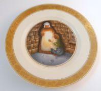 Vintage Royal Copenhagen Hans Christian Andersen The Little Match Girl Plate.